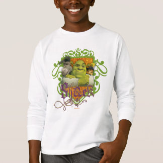Shrek Gruppen-Wappen T-Shirt