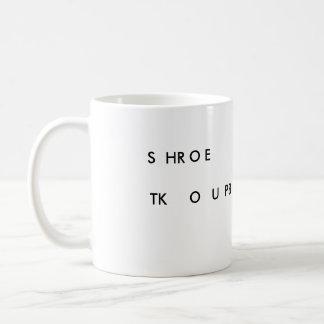 SHROE TKOUPB Gerichts-Berichts-Baby-Tasse - Kaffeetasse