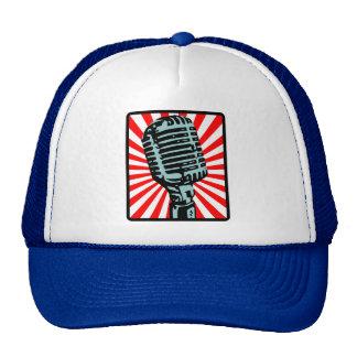 Shure 55S Vintages Mikrofon Retrokultmütze