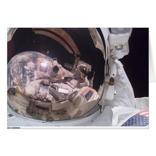 Shuttle-Entdeckung Grußkarte