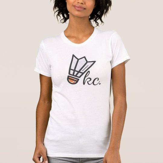 Shuttlecock kc T - Shirt