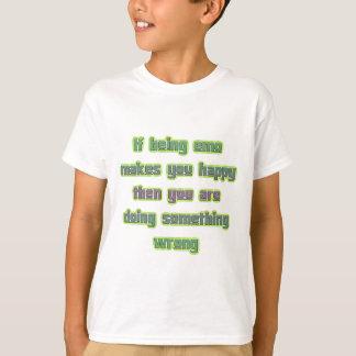 Si étant Emo Tee-shirts