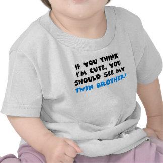 Si vous pensez que je suis mignon, devrais voir mo t-shirts