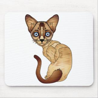Siamesische Katze Mousepad