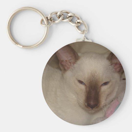 Siamesische Katze Schlüsselanhänger
