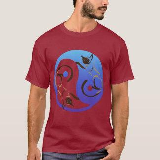 Siamesische Katze Yin und YangT-Shirt T-Shirt