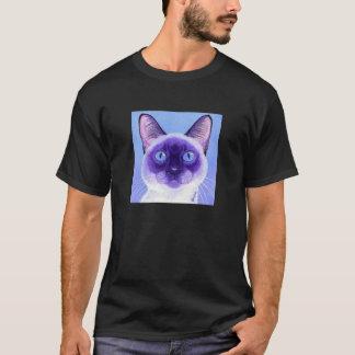 Siamesische Katzen-Dunkelheits-T - Shirt