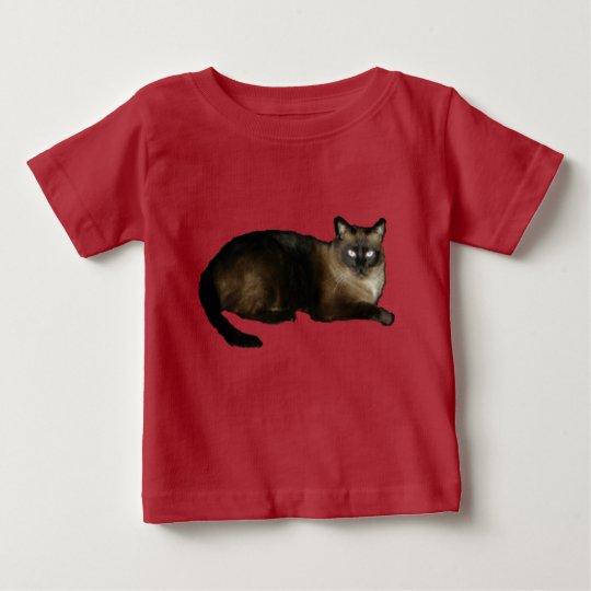 Siamesischer Baby-Geldstrafe-Jersey-T - Shirt
