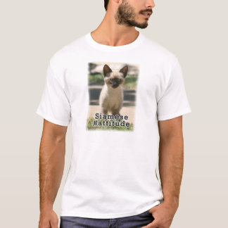 Siamesisches #Attitude T-Shirt