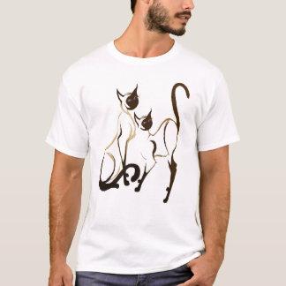Siamesisches KittiesT-Shirt 2 T-Shirt