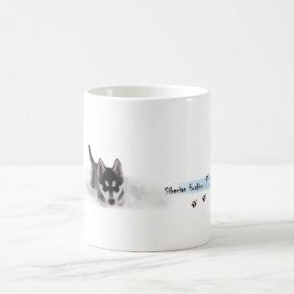 Siberian Husky Puppie Tasse