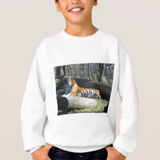 Sibirischer gähnender Tiger Sweatshirt
