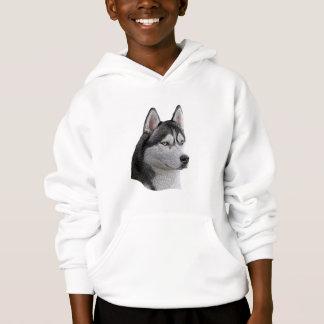 Sibirischer Husky - stilisiertes Bild - addieren Hoodie