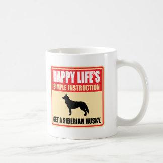 Sibirischer Husky Tasse