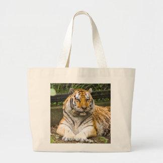 Sibirischer TigerTigress Jumbo Stoffbeutel