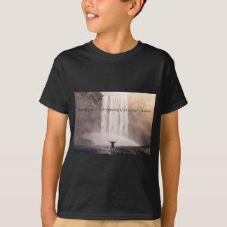 Sich kennen Zitat - KinderT - Shirt