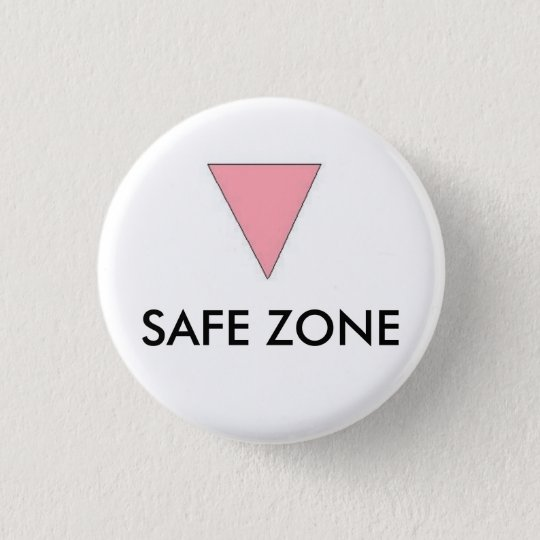 SICHERE ZONE RUNDER BUTTON 3,2 CM