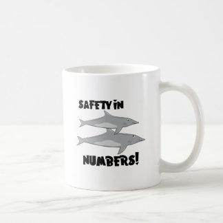 Sicherheit in den Zahlen Kaffeetasse