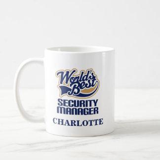 Sicherheits-Manager-personalisiertes Tasse
