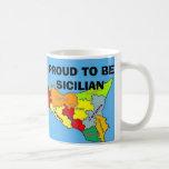 Sicilia, sicilien fier tasse à café