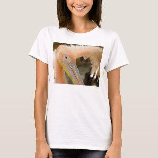 Sie aufpassen Pelikan-Frauen-T-Shirt T-Shirt