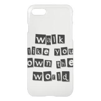 Sie besitzen die Welt iPhone 8/7 Hülle