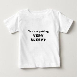 Sie erhalten sehr schläfrig baby t-shirt