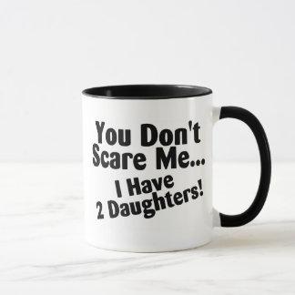 Sie erschrecken mich nicht, den ich Töchter habe Tasse