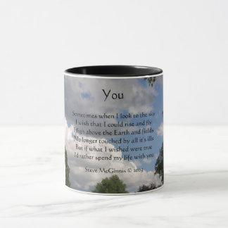 Sie Gedicht, Wecker-Tasse Tasse