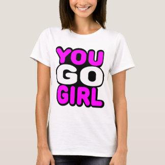 Sie gehen Mädchen T-Shirt