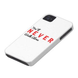 Sie gehen nie allein iPhone 4 cover
