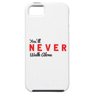 Sie gehen nie allein iPhone 5 schutzhüllen