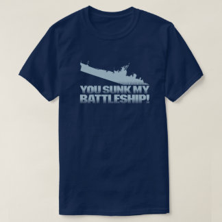 Sie gesunken meiner Schlachtschiff-Retro T-Shirt