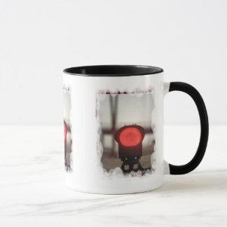 Sie haben das rote Licht Tasse