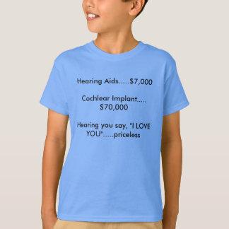 """Sie hörend, sagen Sie, """"ich Liebe Sie""""… T-Shirt"""