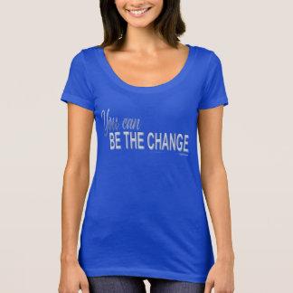 Sie können der Änderungsschaufelhals sein! T-Shirt