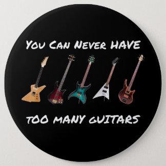 Sie können zu vielen Gitarren-Knopf nie haben Runder Button 15,3 Cm