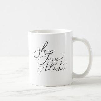 Sie Liebe-Abenteuer-Tasse Tasse