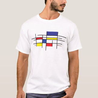 sie mondrian T-Shirt