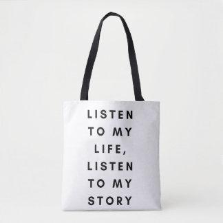 Sie müssen mich kennen Slogan-Taschen-Tasche Tasche