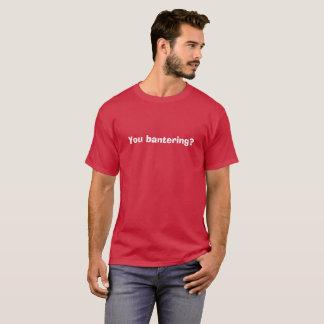 Sie neckender Liebe-Insel-T - Shirt