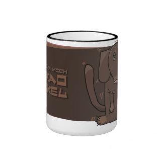 Sie nennen mich Kakao-Dackel Ringer Tasse