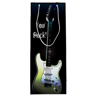 Sie schaukeln! , E-Gitarren-Wein-Geschenk-Tasche Geschenktüte Für Weinflaschen