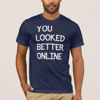 Sie schauten besseren on-line-Facebook Myspace T-Shirt