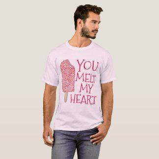 Sie schmelzen mein T-Shirt