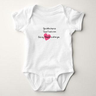 Sie sind das, dass ich Baby-Bodysuit will Baby Strampler