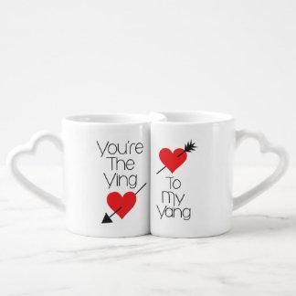 Sie sind der Ying zu meinem Liebestassen