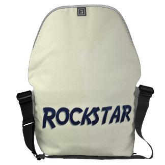 Sie sind ein Rockstar! Kurier Tasche