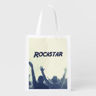 Sie sind ein Rockstar! Wiederverwendbare Einkaufstasche