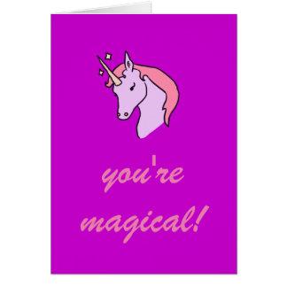 Sie sind magische Valentinstag-Karte Karte